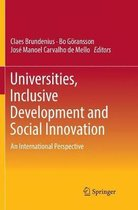 Universities, Inclusive Development and Social Innovation