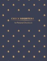 Check Registers for Personal Checkbook