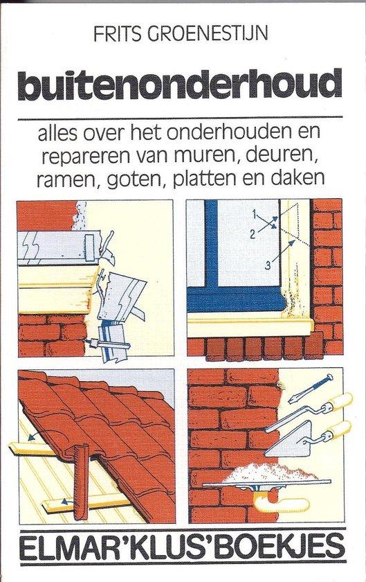 BUITENONDERHOUD - Frits Groenestijn |