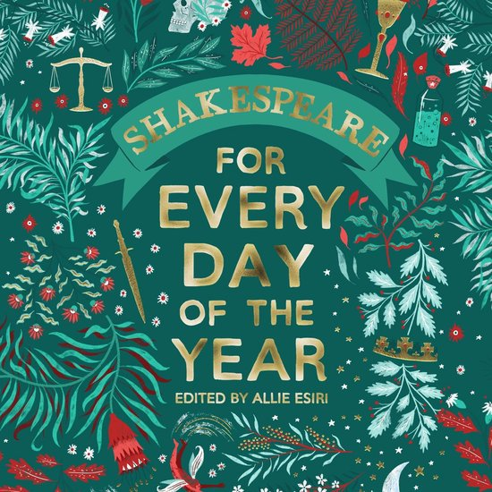 Boek cover Shakespeare for Every Day of the Year van Allie Esiri (Onbekend)