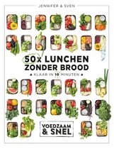 Boek cover 50x lunchen zonder brood van Jennifer & Sven (Hardcover)