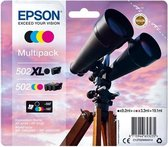 Epson Multipack 4-colours 502 XL Black/Std. CMY C13T02W94010