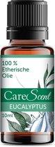 CareScent Eucalyptus Etherische Olie | Essentiële Olie voor Aromatherapie | Geurolie | Aroma Olie | Aroma Diffuser Olie | Eucalyptus Olie - 10ml