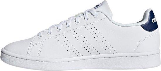bol.com   adidas Advantage sneakers heren wit/marine