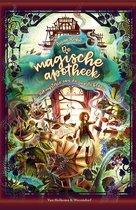 Boek cover De magische apotheek 2 – Het mysterie van de zwarte bloem van Anna Ruhe (Hardcover)