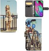 Samsung Galaxy A40 Telefoonhoesje Maken met Foto - Origineel Cadeau Ontwerpen