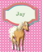 Handwriting and Illustration Story Paper 120 Pages Jay