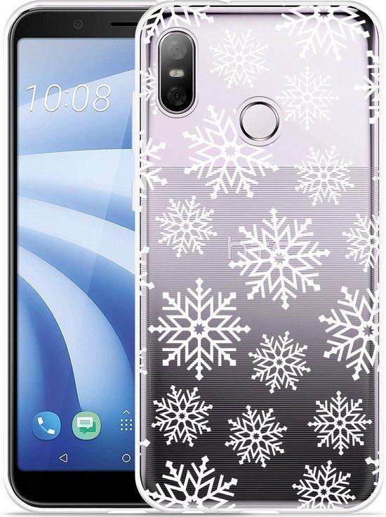 HTC U12 Life Hoesje Snow
