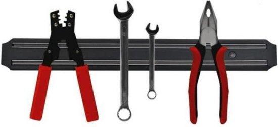 Magneetstrip voor messen - Voor gereedschap - Metaal -  Messenstrip - Messenhouder - Ophangsysteem - 33 cm