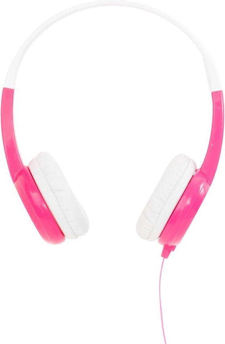 BuddyPhones Discover - hoofdtelefoon/headset, Roze, Wit
