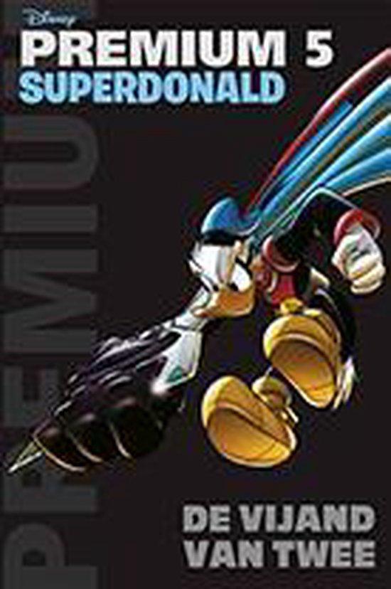 Donald Duck Premium Pocket 5 - Superdonald- De vijand van twee - Disney |