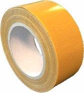 Dubbelzijdige tape voor rubber sportvloeren - 50 mm x 25 meter