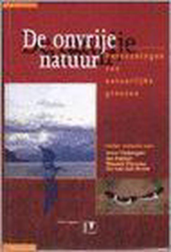 De Onvrije Natuur - Joost Tinbergen |