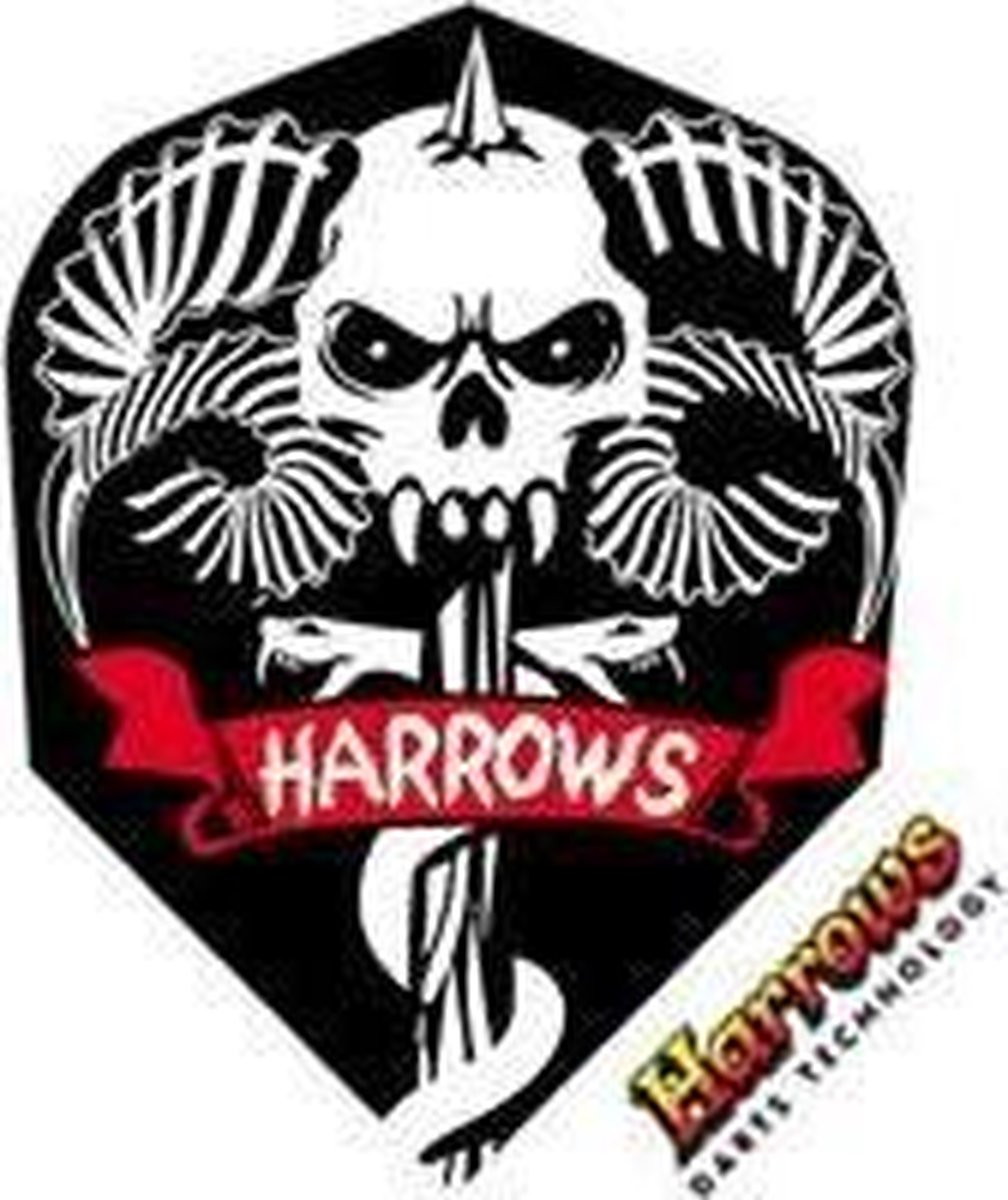 Harrows Marathon Skull Set à 3 stuks