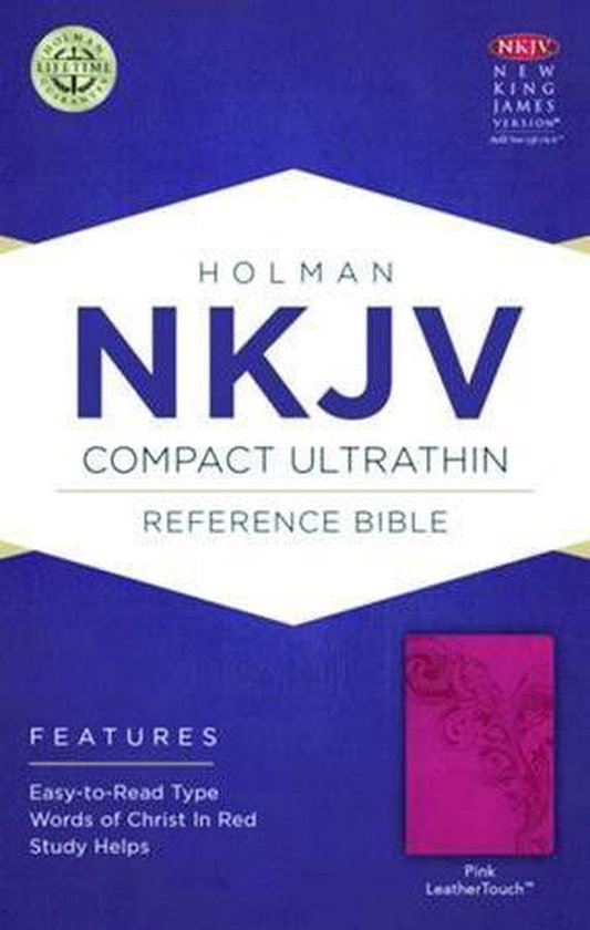NKJV Compact Ultrathin Bible, Pink LeatherTouch - Diverse auteurs |
