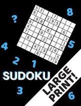Sudoku Large Print!