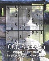 1000 Sudoku von einfach ber mittel hin zu schwer und extrem