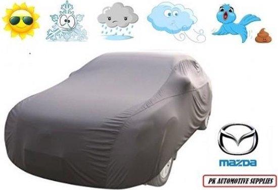 Bavepa Autohoes Grijs Polyester Geschikt Voor Mazda 323 sedan 1994-1998 / 323F 1994-1998