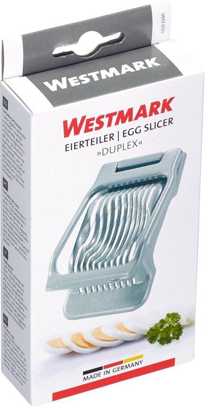 Westmark Duplex Eiersnijder 13,5 x 7,9 x 2,9 cm - Alu – RVS