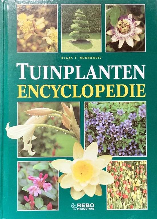 Boek cover Encyclopedie - Tuinplanten encyclopedie van TextCase (Hardcover)