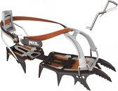 Petzl Sarken stijgijzers grijs/oranje