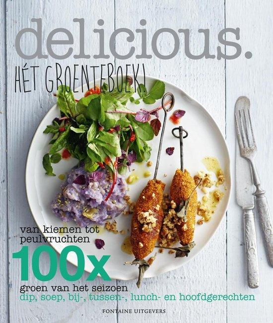 Boek cover Hét groenteboek! van Delicious. Magazine (Paperback)