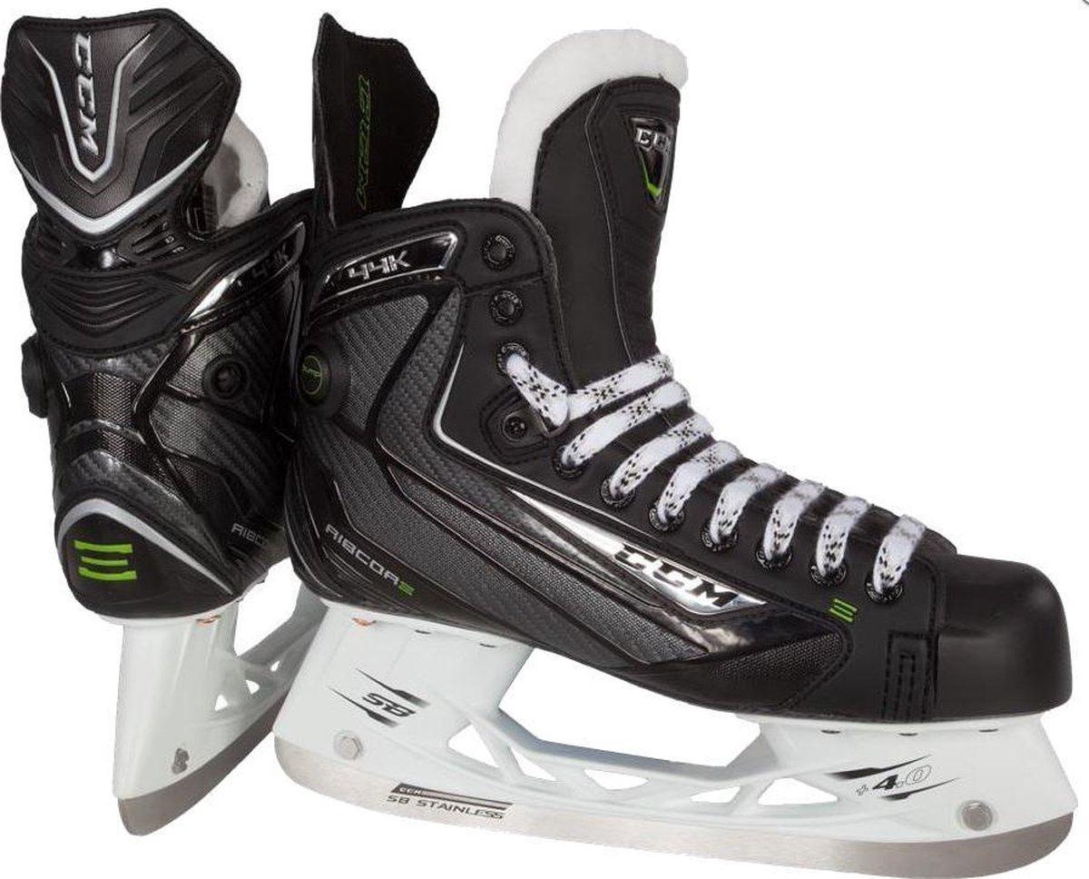 Ccm Ijshockeyschaatsen Ribcor 44k Unisex Zwart Maat 40,5