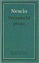 Boek cover Verzameld proza van Nescio