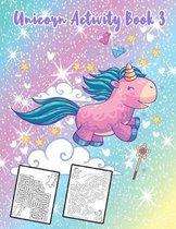Unicorn Activity Book 3
