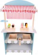 Mamabrum Houten Speelgoed - IJskraam & Theater - Speelgoedwinkeltje Kinderen