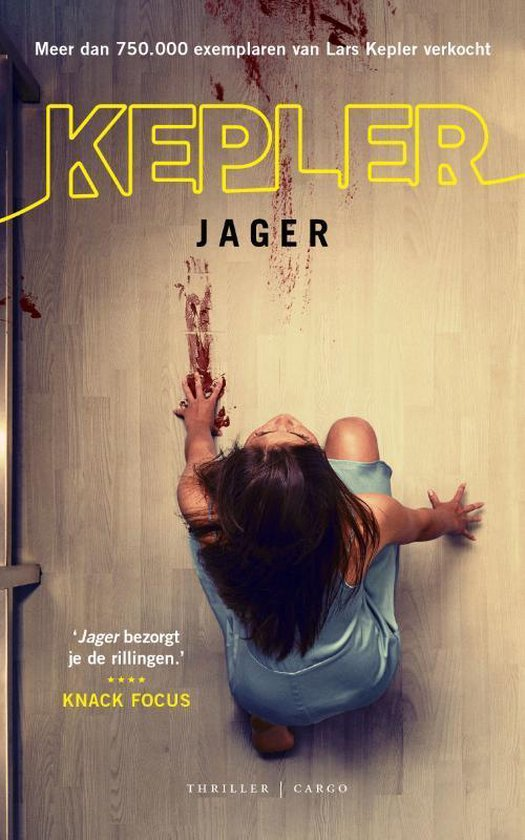 Boek cover Joona Linna  -   Jager van Lars Kepler (Paperback)