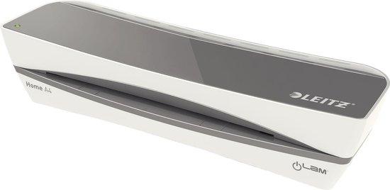 Leitz iLAM Lamineermachine Home A4 - Lichtgrijs - 100 Micron