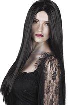 Halloween Pruik Witch Zwart