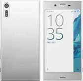 Hoesje CoolSkin3T TPU Case voor Sony Xperia XZ Transparant Wit
