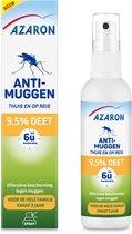 Azaron Anti-Muggen 9,5% DEET Muggenspray - Muggenbescherming