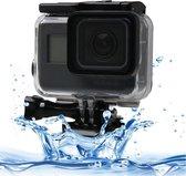 Waterdichte Onderwater Behuizing tot 60 meter voor GoPro HERO 5 / 6 / 7 BLACK + bevestiging