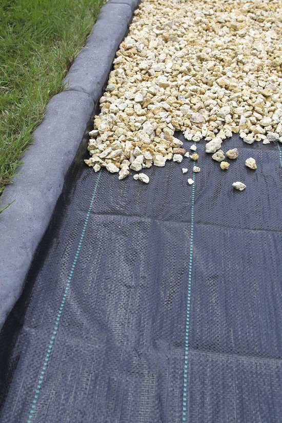 Gronddoek 2,10x 50m 100g zwart - Nature
