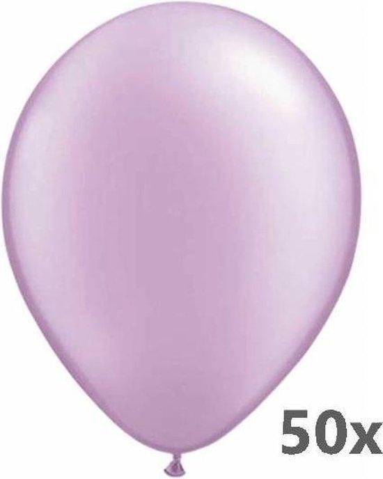 Ballonnen - Lavendel / paars - Metallic - 30cm - 50st.