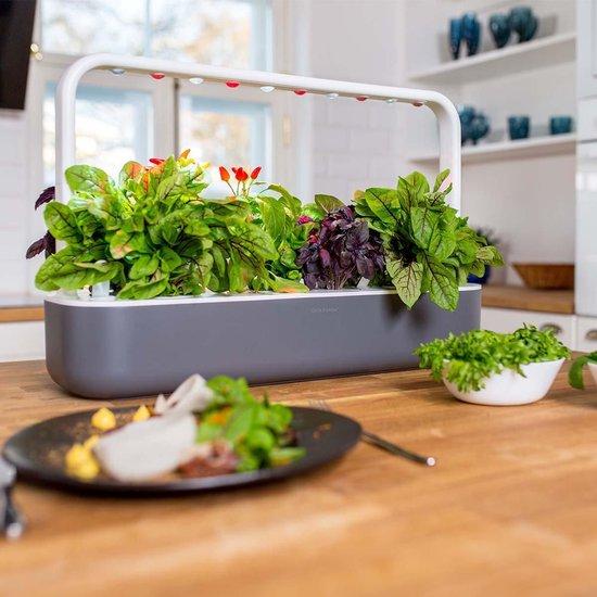 Binnentuin met LED-verlichting Click & Grow Smart Garden 9 - Donkergrijs