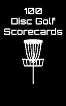 100 Disc Golf Scorecards
