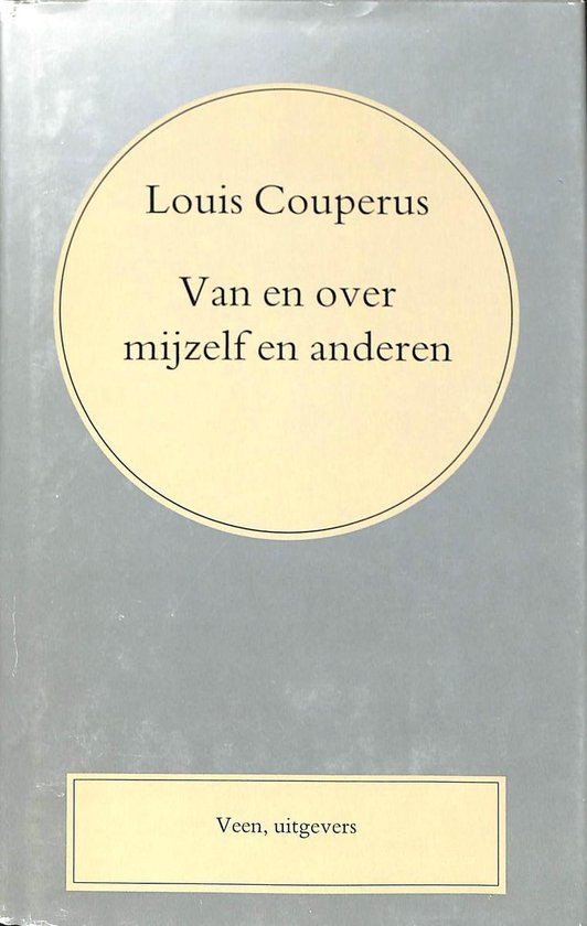 Van over mijzelf anderen (coup.vol.w 27) - Couperus |