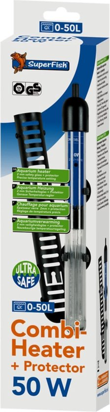 Superfish GS Combi Heater - Aquarium - Verwarming - 50W