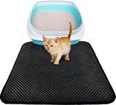 Kattenbakmat - cat litter mat - Vangt Grind Op Uitloopmat Mat is waterdich 40x50 cm