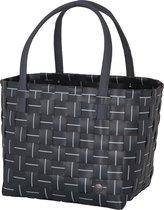 Handed By - Shopper - Tas - Fine Line Elegance - Donker Grijs