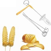 Aardappel snijder - Chips maker - Potato twister - Spies