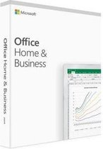 Microsoft Office 2019 Home & Business - eenmalige aankoop - Engels (code in doosje)