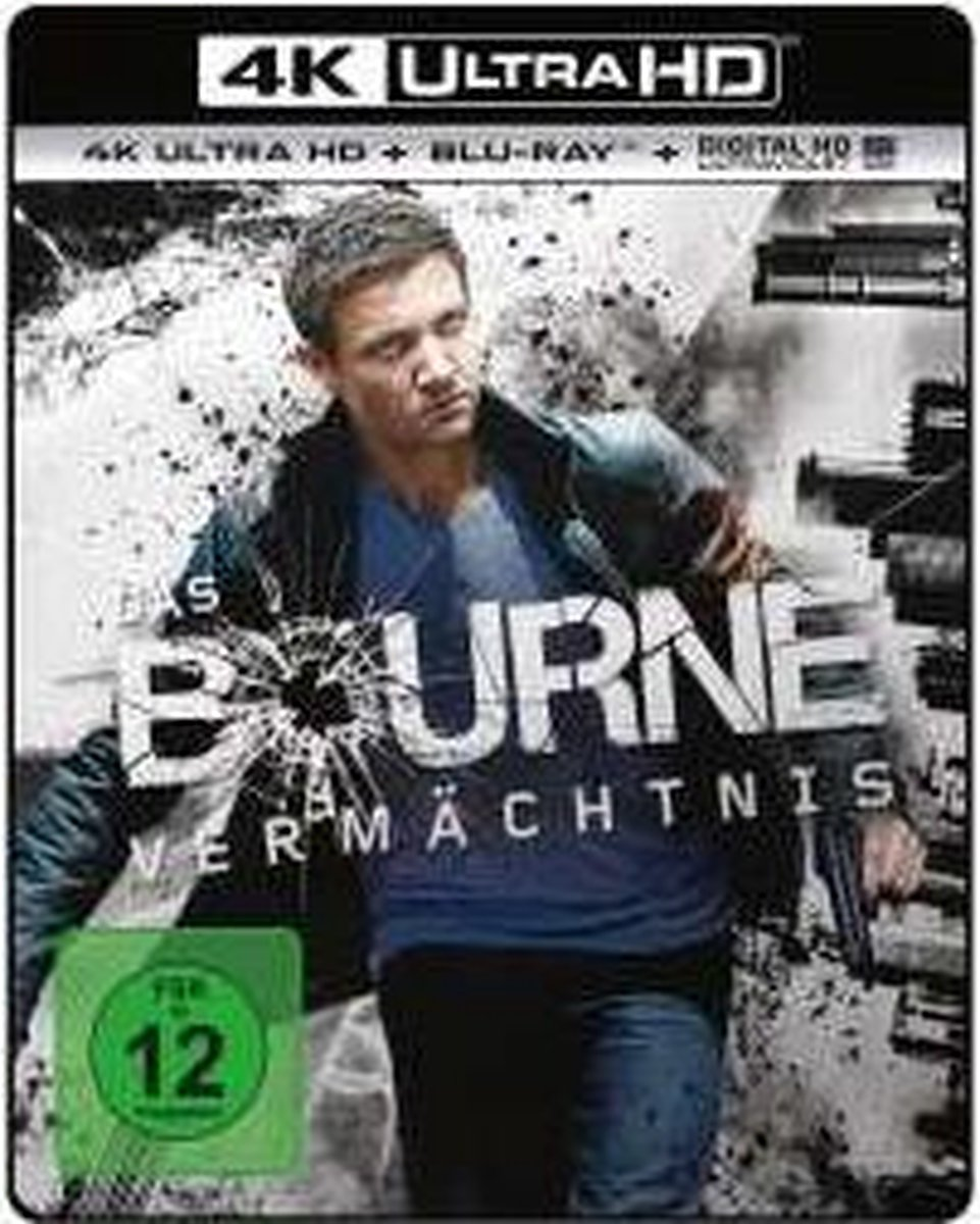 The Bourne Legacy (2012) (Ultra HD Blu-ray & Blu-ray)-