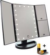 Spiegel met LED verlichting - Make-upspiegel - Wit