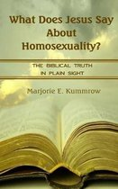 What Does Jesus Say About Homosexuality?