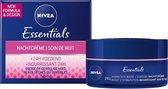 NIVEA Essentials Herstellend Droge of Gevoelige Huid - 50 ml - Nachtcrème